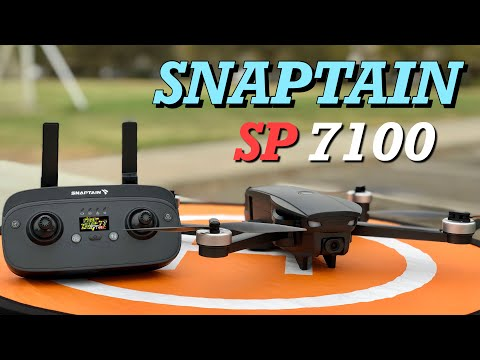 SnapTain SP7100 4K 5G WiFi FPV Drone | How To Setup & Flight Test