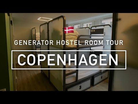 Generator Hostel Copenhagen: Room tour & first impressions (2016)