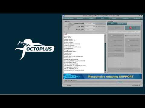 Samsung GT-C3595 Write Firmware with Octoplus Box