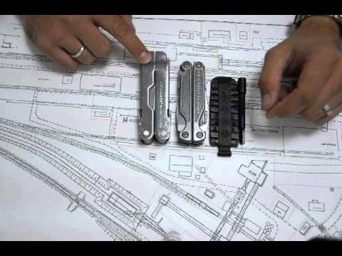 Сравнение размеров Leatherman Super Tool 300 и Leatherman Charge TTi
