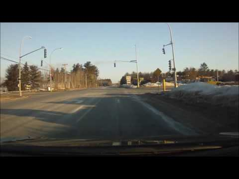 Red light drive through. CFB Gagetown - March 10, 2017
