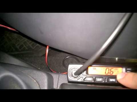 Statie Radio CB Albrecht  6110 AE Putere Modificata Reglabila 4-10-26 Wati