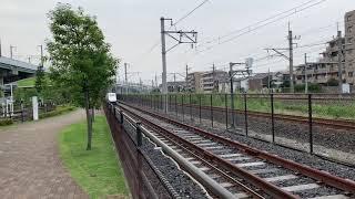 新幹線が大宮 鉄道博物館を通過