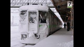 クモハ721-3019 札幌→白石 721系 JR北海道 函館本線 245M F-3019編成