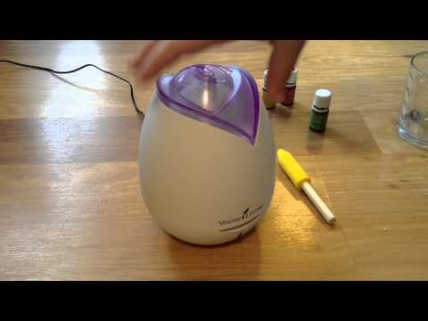 How To Use And Clean Your Home Diffuser From Young Living