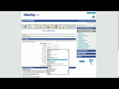 Email & SMS Payment Link - Klik & Pay - Online Payment Solution