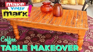 How to: 70's Coffee Table Makeover