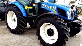 видео Тракторы New Holland серии TD5