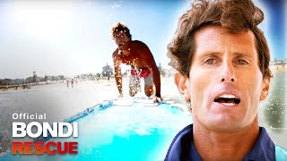Superhero Harries Saves the Day! | Bondi Rescue S9