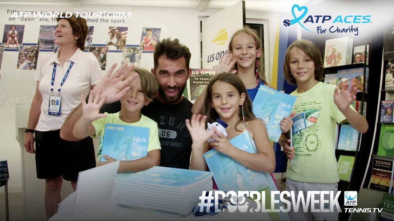 Tecau Shares Life Lessons With Youth Through Children's Book