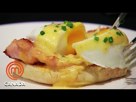 How To Cook A Perfect Poached Egg - MasterChef Canada | MasterChef World