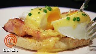How To Cook A Perfect Poached Egg   MasterChef Canada  MasterChef World