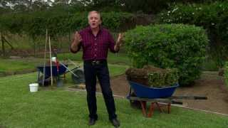 Graham Ross with his top tips on how to lay turf