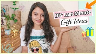 DIY Last Minute Gift Ideas to do in LOCKDOWN | 15 DIY Gift ideas at home For Everyone !!
