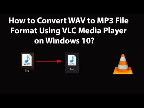 How To Convert WAV To MP3 File Format Using VLC Media Player On Windows 10?
