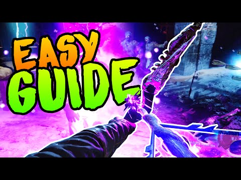 BEST VOID BOW UPGRADE GUIDE [EASY] Black Ops 3 Zombies Der E