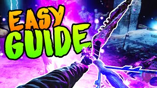 BEST VOID BOW UPGRADE GUIDE [EASY] Black Ops 3 Zombies Der Eisendrache Easter Egg Guide Purple Skull