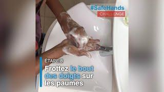 #SafeHandsChallenge - Directrice Régionale du Bureau régional de l'OMS pour l'Afrique