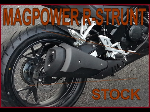 magpower r stunt 125 sound stock youtube. Black Bedroom Furniture Sets. Home Design Ideas