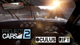 VR [Oculus Rift] Project Cars 2 Gameplay | Career Ginetta Junior | Rain and Aquaplaning
