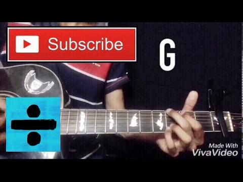 Ed sheeran - Perfect | GUITAR LESSON | Bilal Ahmed | Guitar cover with chords