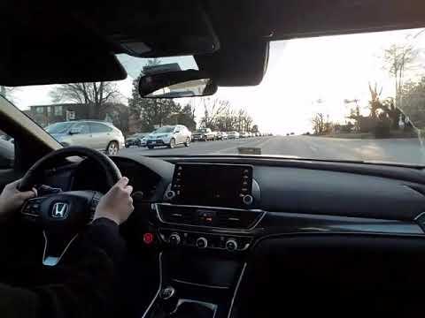 2018 Honda Accord Sport 1 5t 6m 0 60 Youtube