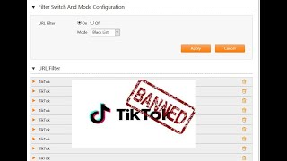 TikTok App Block MikroTik اغلاق وحجب تيك توك على الراوتر المنزلى احمى عيلتك