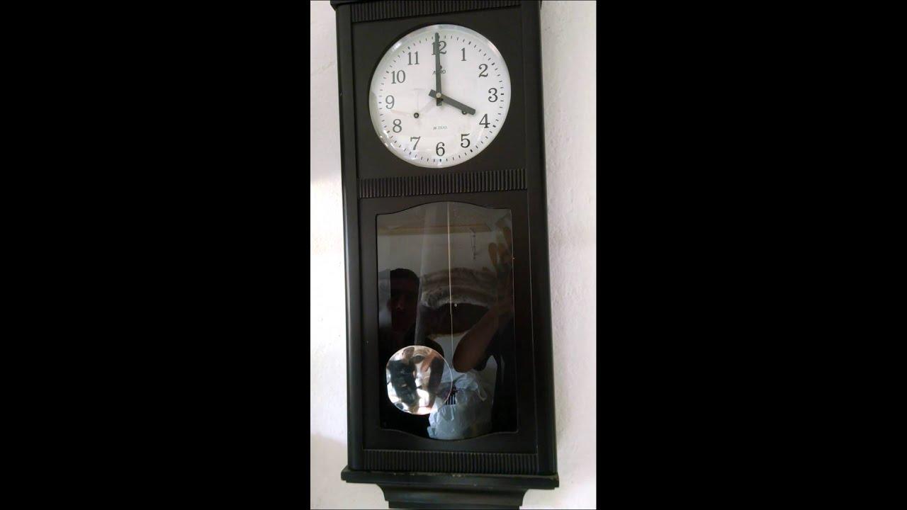 87fb4ab7d08 relógio antigo parede astro - YouTube