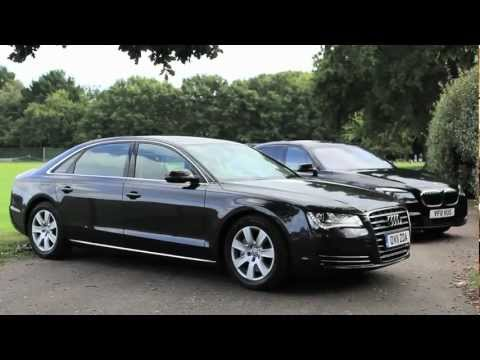 The Chauffeur Car of the Year 2011 Awards. BMW 730Ld Vs Audi A8L