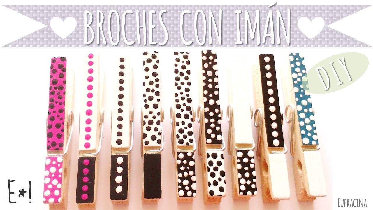 Como hacer broches decorativos con iman diy youtube - Como hacer cojines decorativos ...