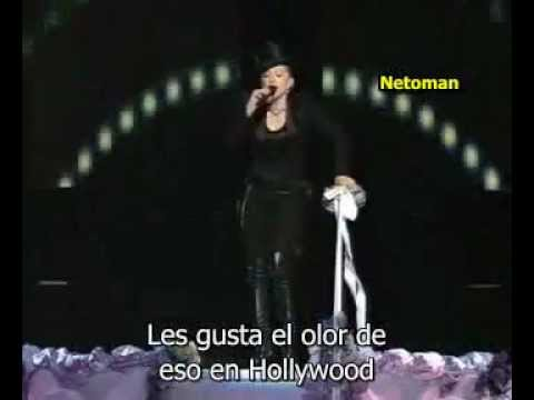 Madona, Britney Spears, Cristina Aguilera, Missy eliot - Like a virgin/Hollywood VMA 2003 español