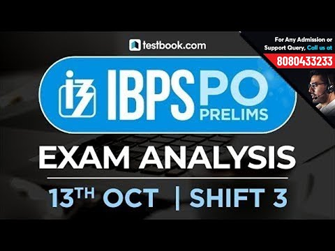 IBPS PO Prelims Exam Analysis | 13th October Shift 3 | Live from Students Coming from Exam Center!