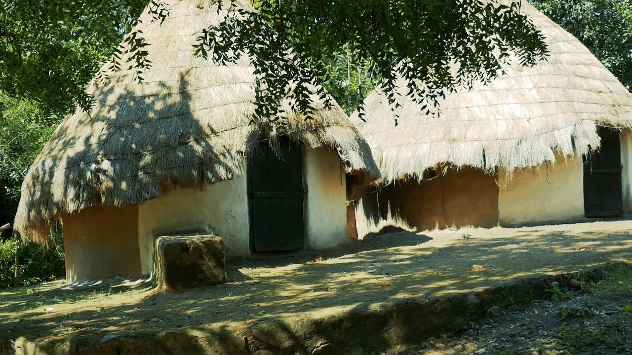 Village Hut Cottage House In India Indian Huts In