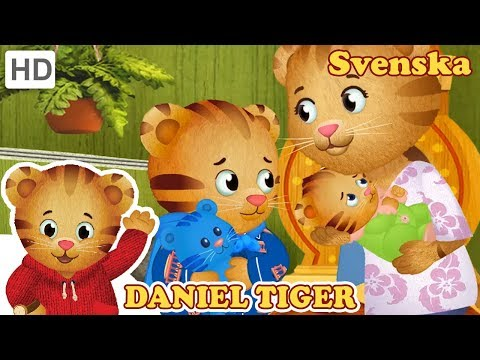 Daniel Tiger's Kvarter - Att bli frustrerad med min syster | Videor för Barn