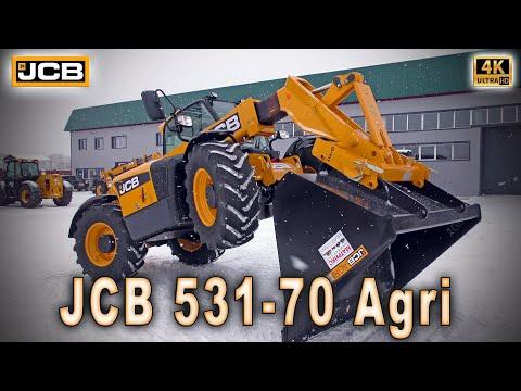 Телескопический погрузчик JCB 531-70 Agri - золотая рука в сельском хозяйстве