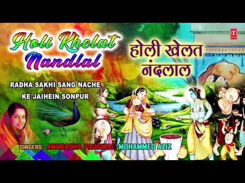 HOLI SPECIAL I Holi Khelat Nandlal I ANURADHA PAUDWAL I Audio Songs I T-Series Bhakti Sagar