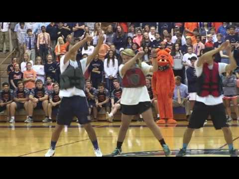 Norfolk Academy Homecoming Pep Rally 2016