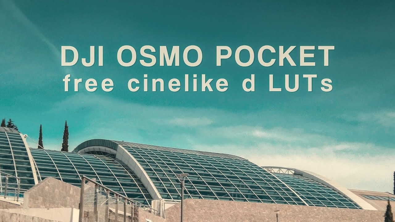 Download These Free DJI Osmo Pocket Color Grading LUTs | 4K Shooters