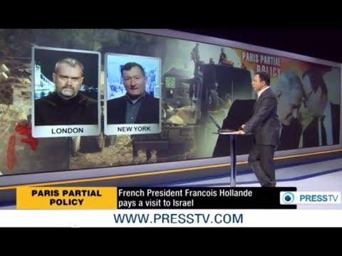 Israel & France's President Hollande in Love - Press TV's 'The Debate' - Ken O'Keefe