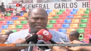 Complexo Desportivo Norberto de Castro - Inaugurado Estádio General Carlos Hendrick com relva sinte