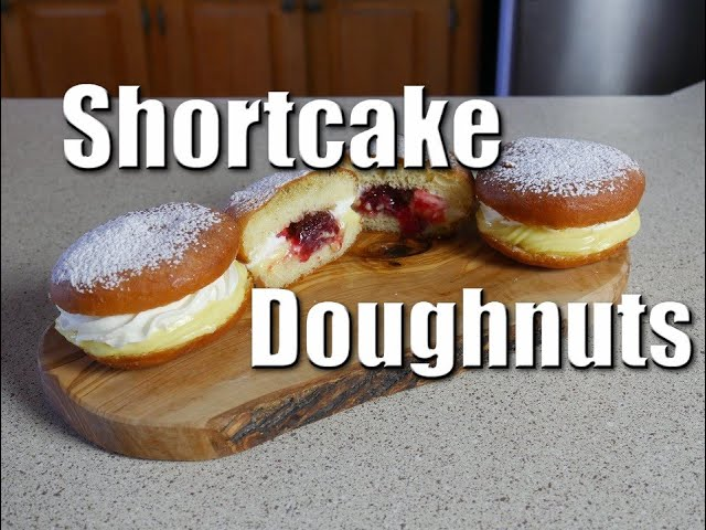 Shortcake Doughnuts   Baking With ChefJohnReed