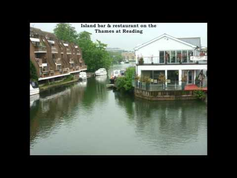 Views of Oxford, Reading, Henley-on-Thames & Highclere Castle.wmv
