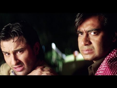 Ajay Devgan Shoots Truck Driver | Kachche Dhaage Movie Scene