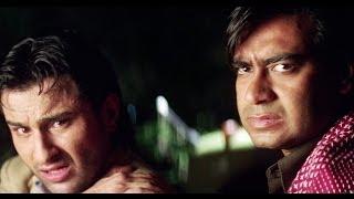 Ajay Devgan Shoots Truck Driver   Kachche Dhaage Movie Scene