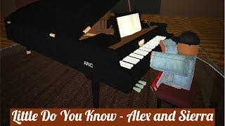 po sa Roblox pianoforte - Alex e Sierra