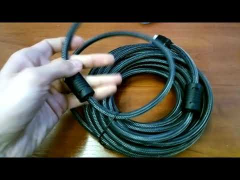Цифровой кабель Defender HDMI-33PRO HDMI M-M, ver1.4 10 м (87435)