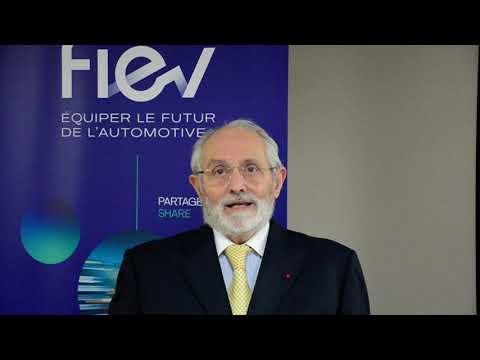 Les voeux 2021 de Claude Cham, Président de la FIEV