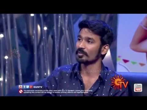 "Thumbnail: Dhanush Talks about Chiyaan Vikram's Hardwork in ""I"""