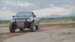 Ford F150 Prerunner Playing in the Dirt