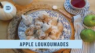 Apple Loukoumades: Greek Fritters